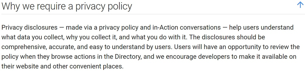 Privacy Policy >> Privacy Policies Are Required By Law Privacy Policy Template Generator
